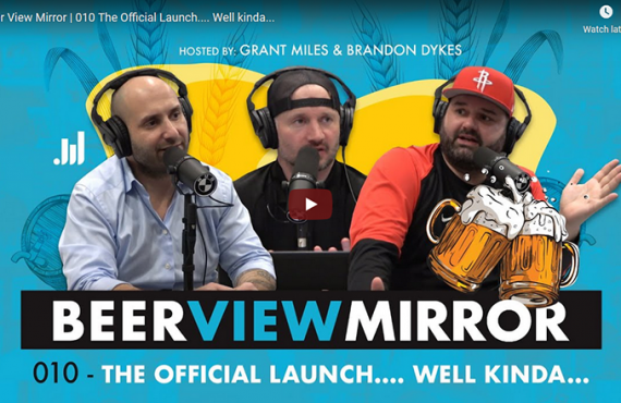 The Launch of #BeerViewMirror